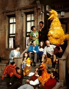sesame street original cast