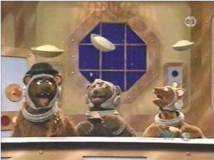 three bears in space