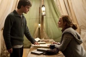 harry hermione alone