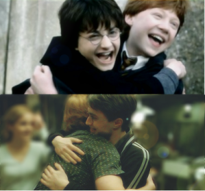ron harry hug