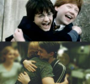 ron harry hug