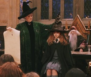 hermione-sorting hat