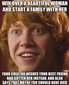 poor ronald weasley