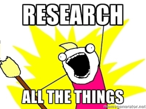 research all the things