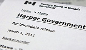 harper government